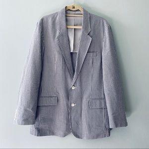 Michael Kors seersucker sport jacket, 42R